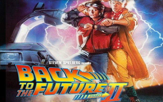 Back to the Future II official poster