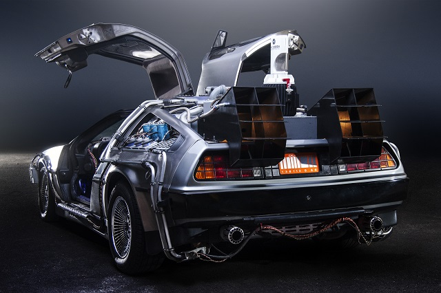 Car from the trilogy Back to the Future