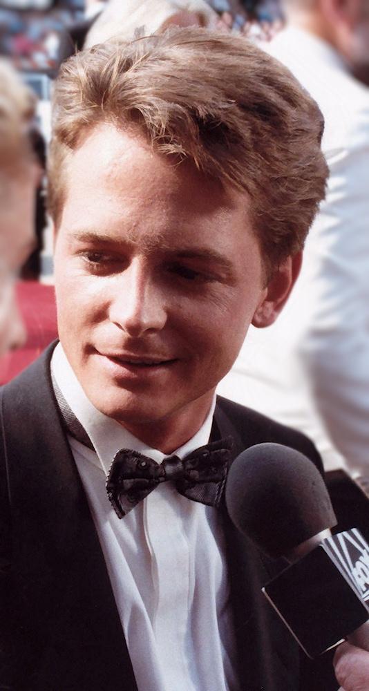 Michael J. Fox movie star
