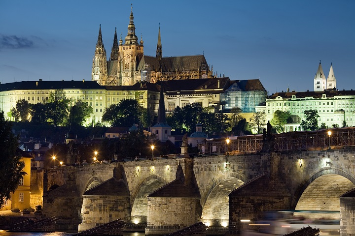 St Charles Bridge in Prague