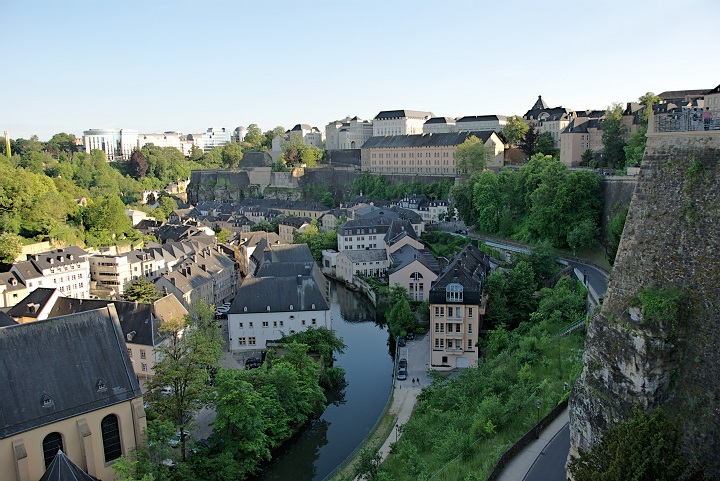 The valley in Luxembourg.