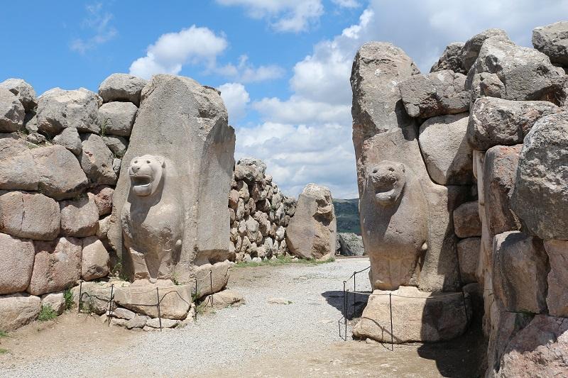 Entrance to Hattusa