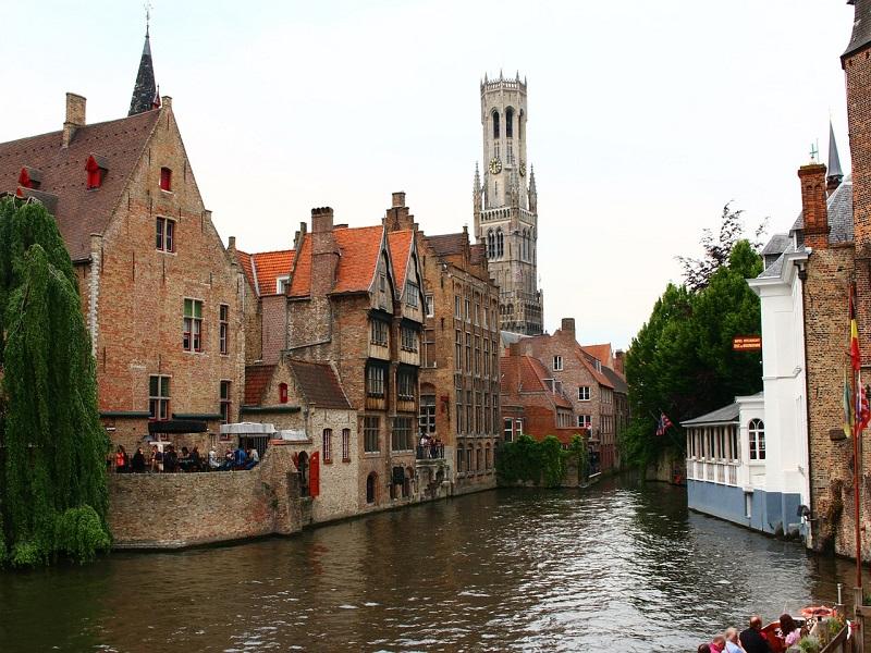 Antwerp the medieval city photo