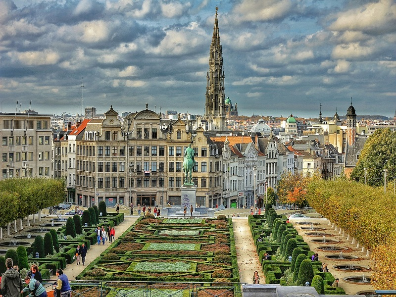 Photo of the legendary Brussels Plaza