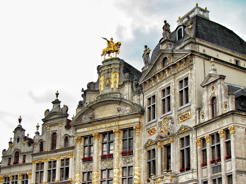 Brussels grand architecture
