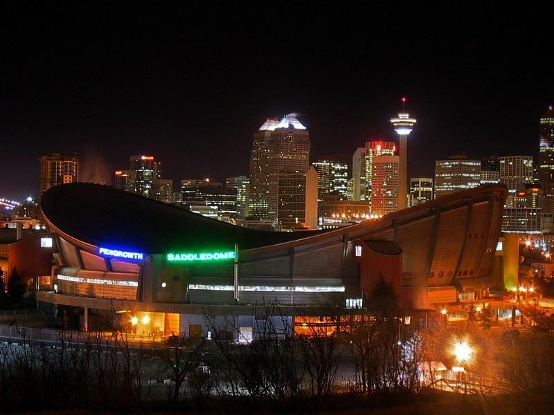 Photo of Scotiabank Saddledome in Calgary