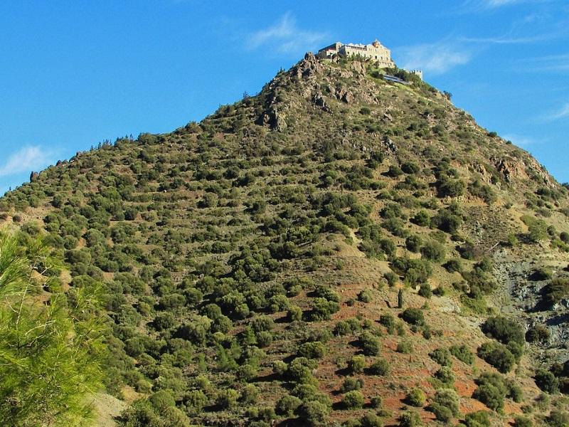 Photo of Stavrovuoni Monastery in Cryprus