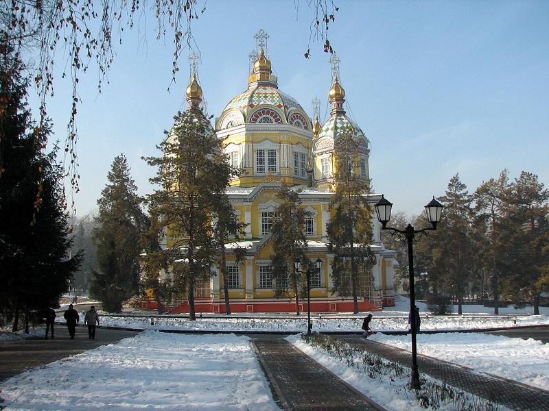Kazakhstan, Almaty cathedral