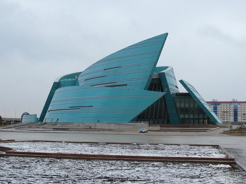 Kazakhstan, concert hall in Astana