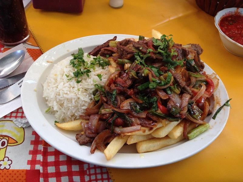 Photo of a dish in Peru
