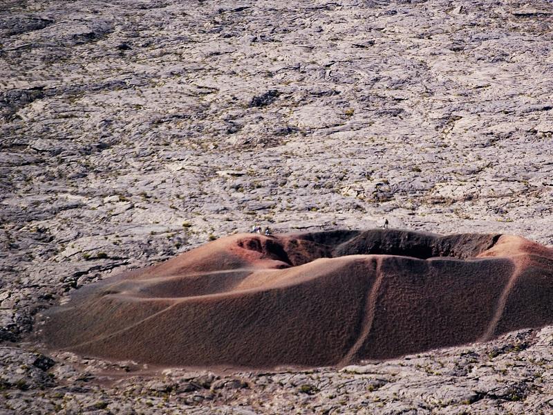 Photo of volcanic rock on Reunion Islands