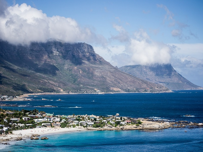 Photo of South African coastline