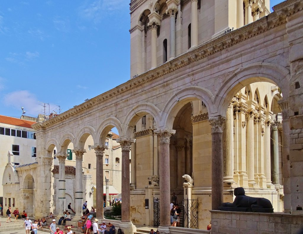 Front entrance of Diocletian's Palace