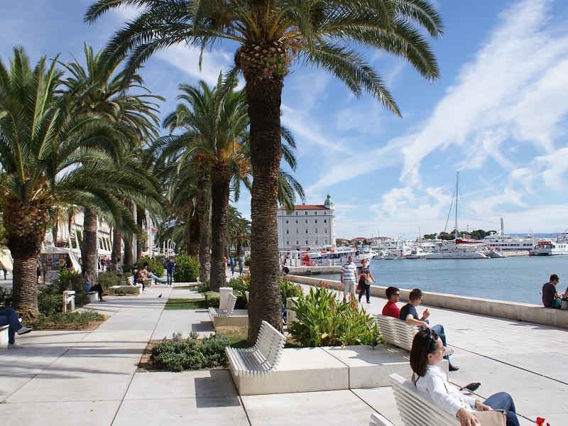 Promenade in Split