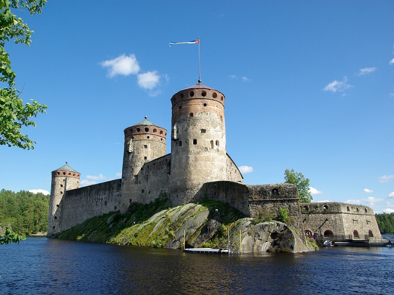 Photo of the famous Fortress of Finland