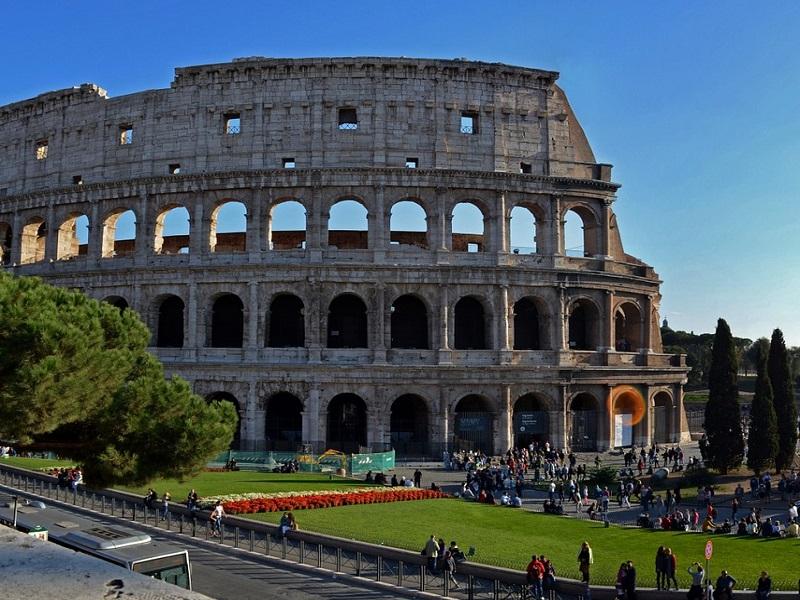 The legendary Colosseum in Rome