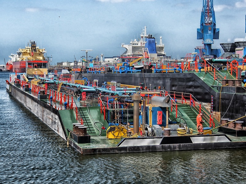 netherland-rotterdam-port-ships