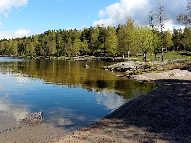 Image of Sognsvann Lake