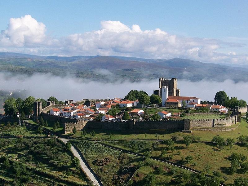 Lovely Braganca city in Portugal.