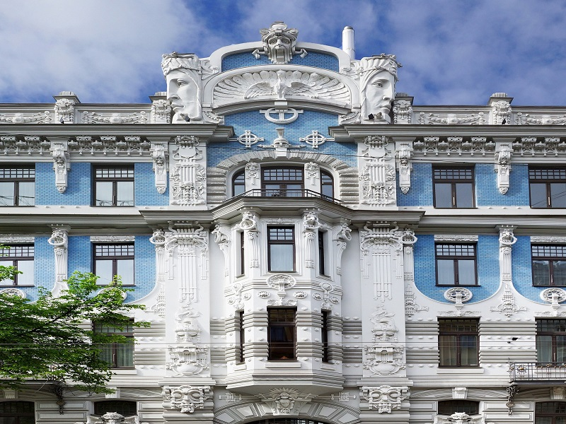 Photo of Art Noveau building