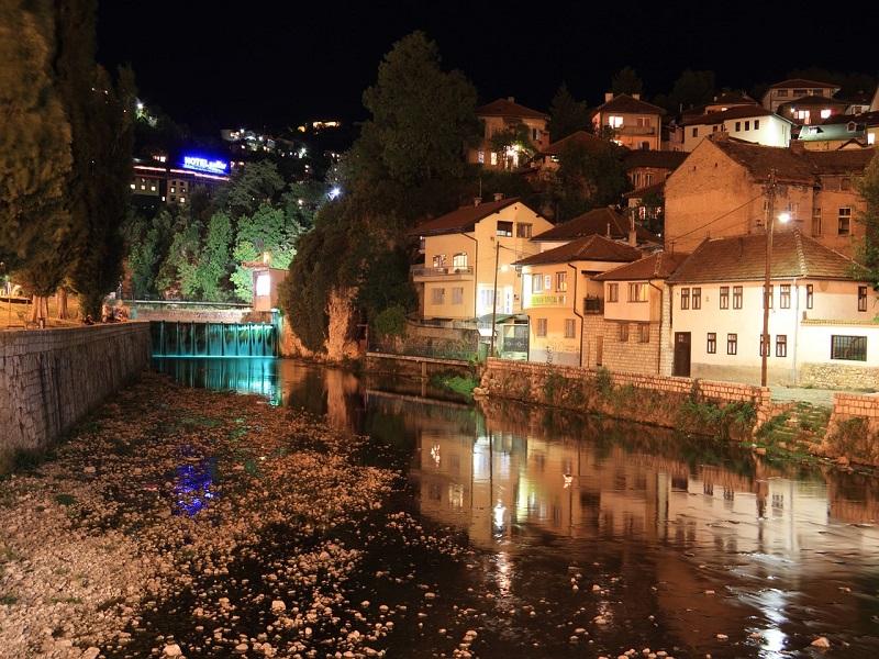 Photo of capital city Sarajevo