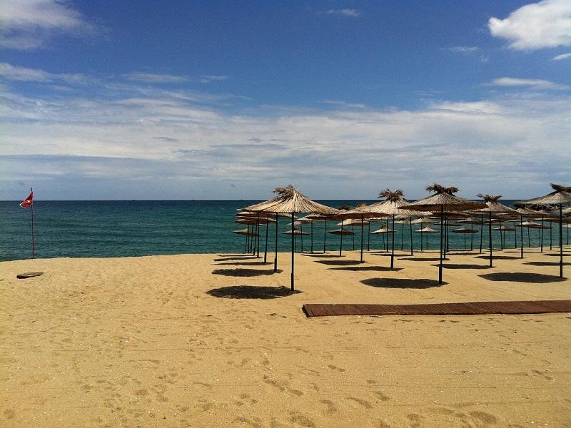 Black Sea beach image