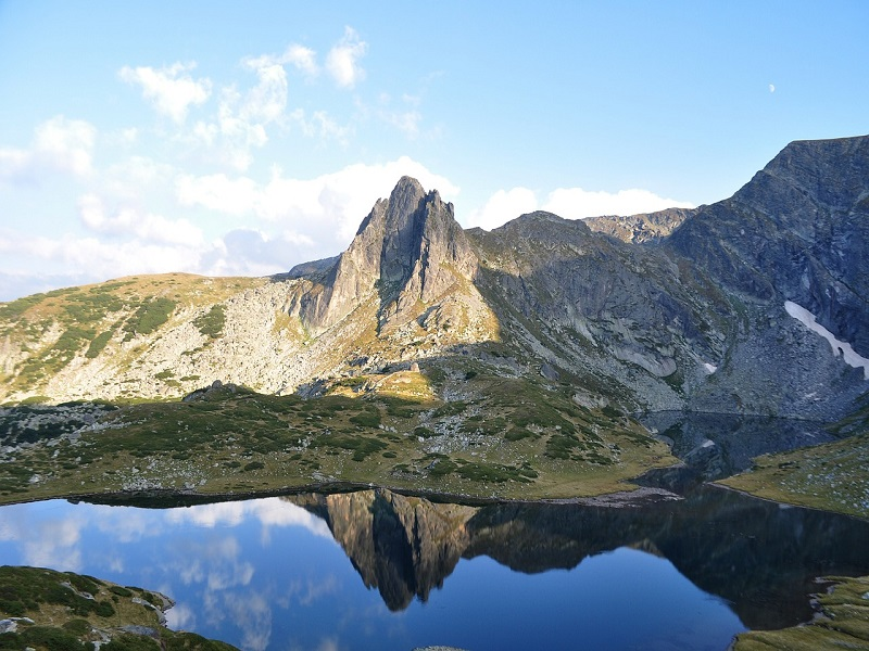 Photo of one of the Rila Lakes