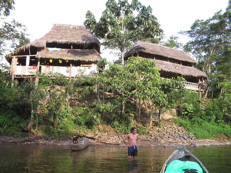 Photo of Ecuadors lodge house