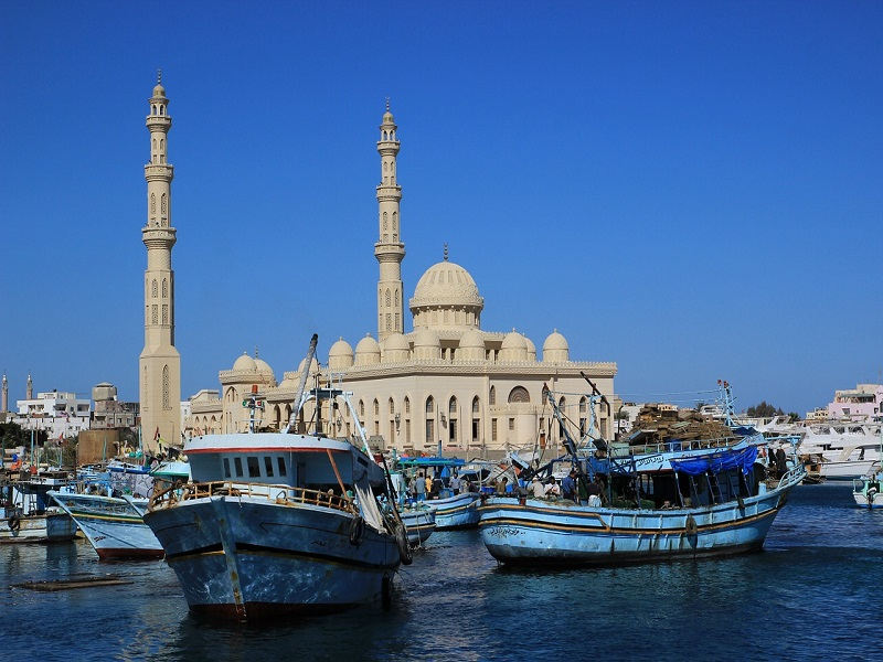 Photo of Hurghada, Egypt's resort town