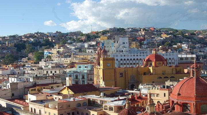 Photo of historic city of Guanajuato
