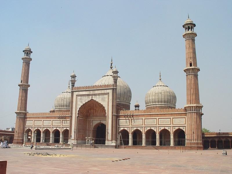 Photo of New Delhi mosque
