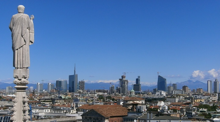 Image of Milan's skyline