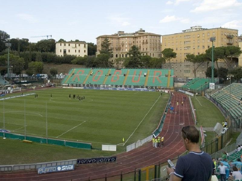 Photo of inside of Siena Artemio Franchi Stadium