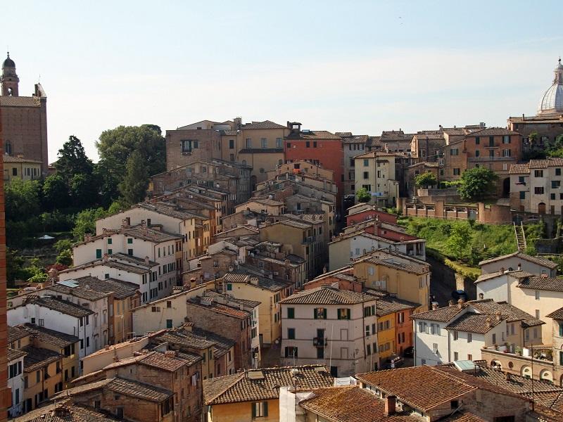 Image of Siena buildings