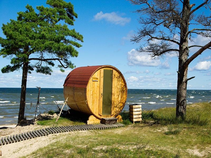 Photo of shore in Latvia