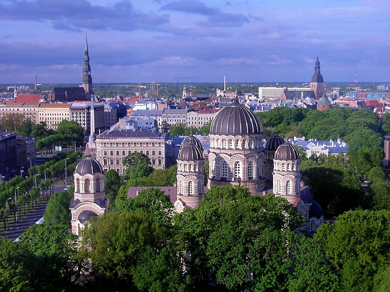 Latvia's biggest and capital city Riga
