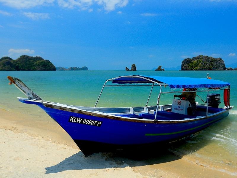 Fantastic beach in Malaysia.