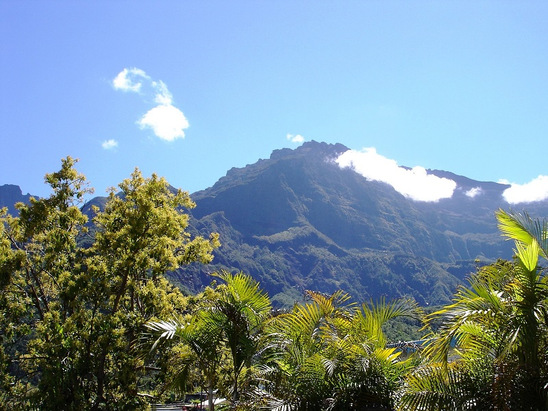 Photo of natural landscape in Reunion Islands