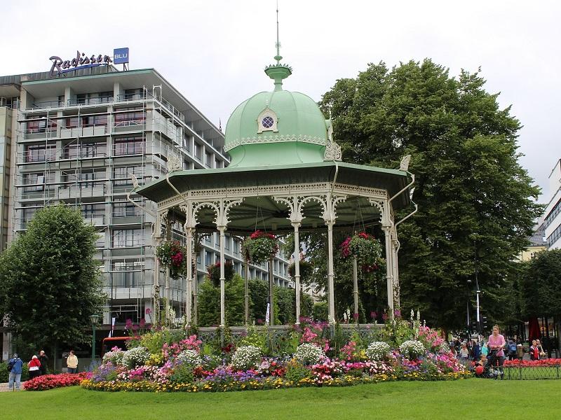 Image of a garden in Bergen