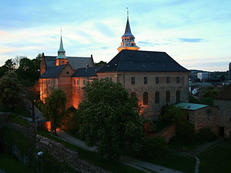 Akershus in Oslo, Norway
