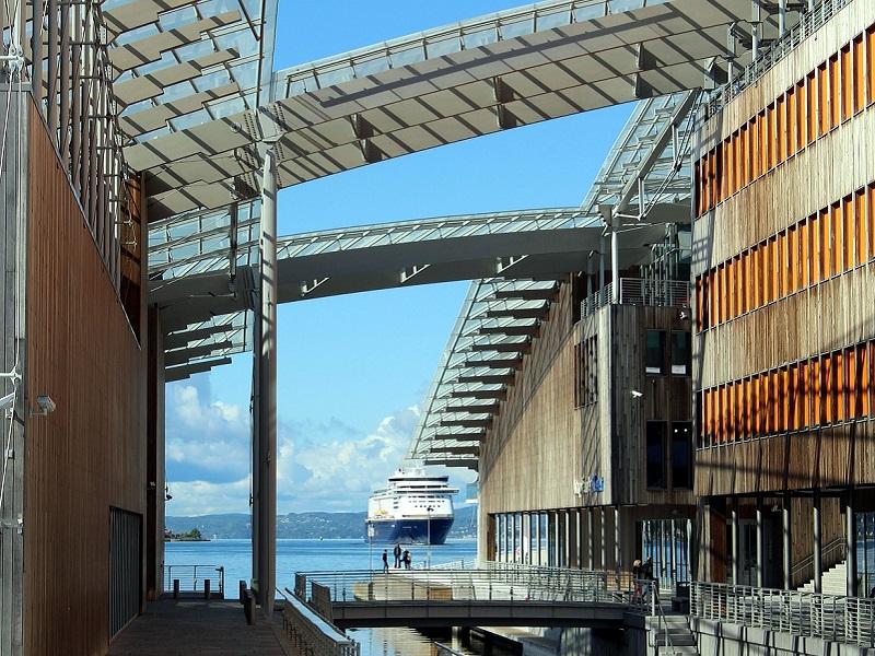 Port in Oslo, Norway
