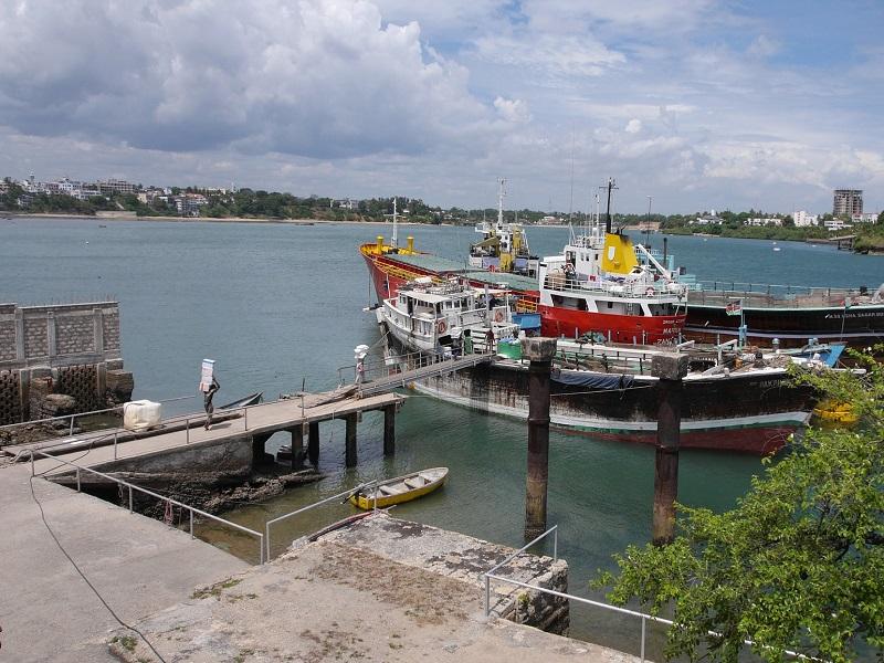 Photo of the old port Mumbasa located in Kenya