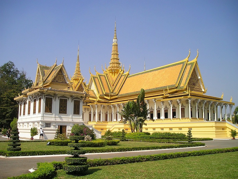 Photo of a Royal Palace in Cambodia