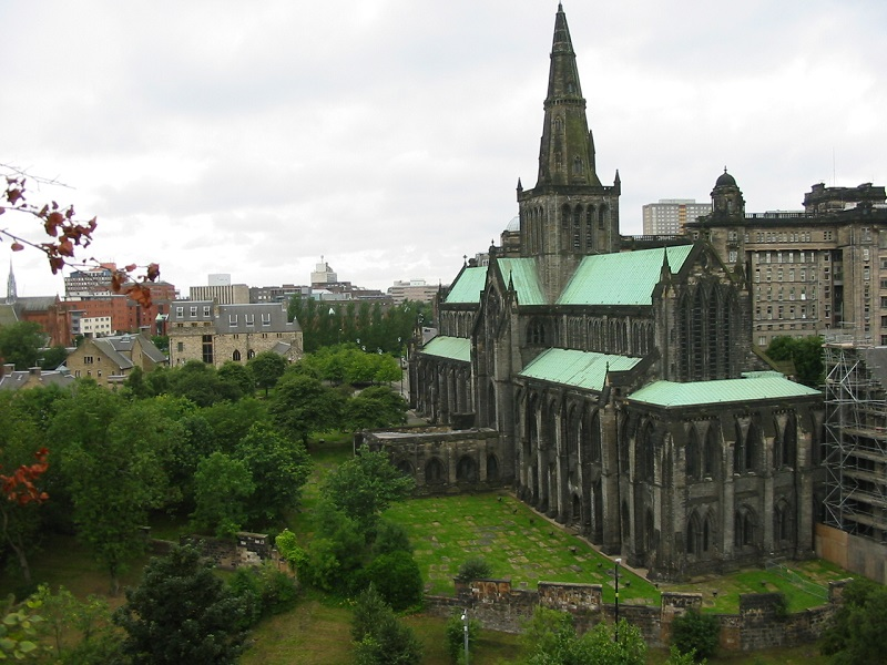 Photo of the Glasgow Cathedral