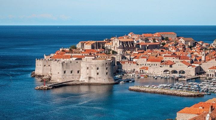 Coastal town of Dubrovnik