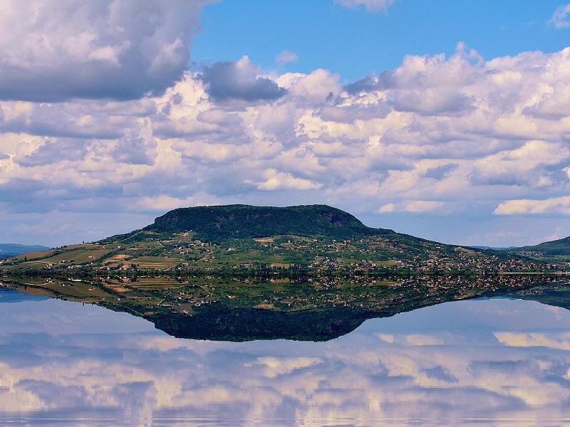 A beautiful view of Lake Balaton in Siófok, Hungary
