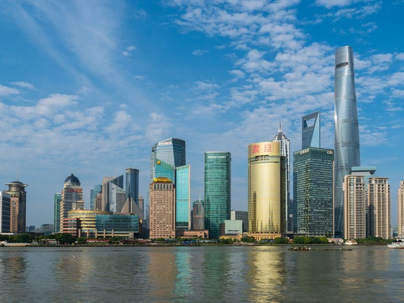 Image of Shanghai on a beautifuly day.