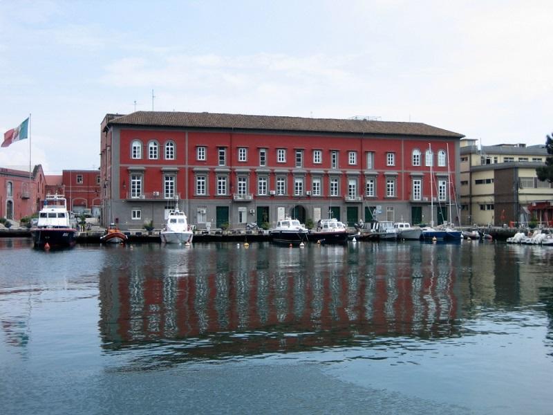 Italian port of Naples