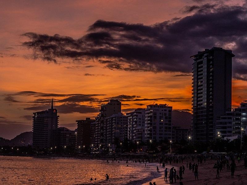 Acapulco, city in Mexico