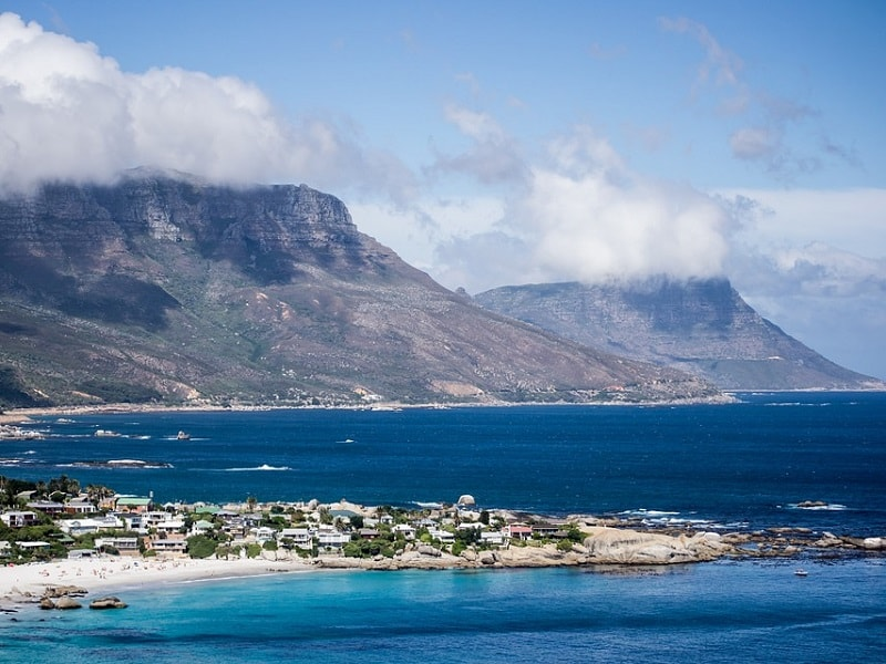 Picture of the beautiful natural scenery in and around Cape Town.